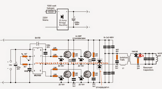 induction heater circuit