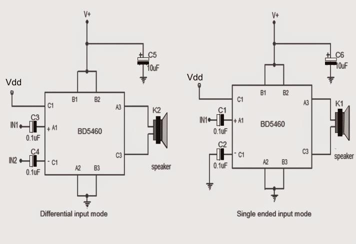 class d audio amplifier