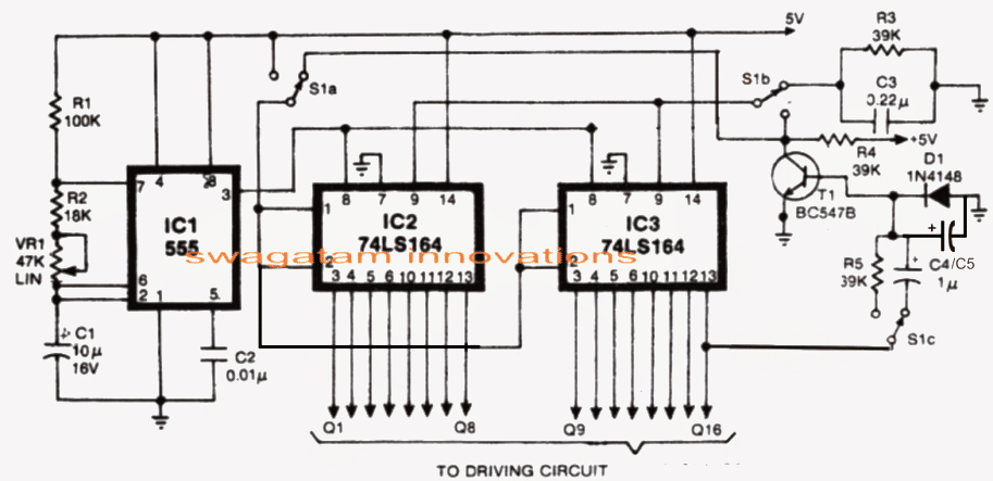 circuits knight rider leds schematic