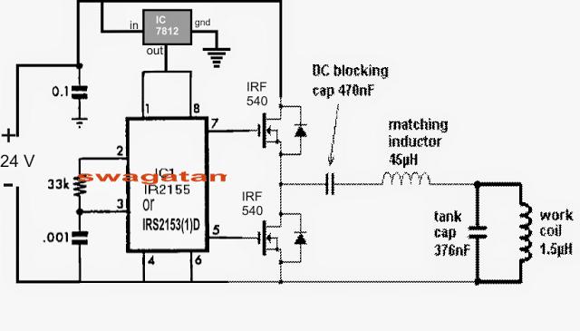 Solar Induction Heater Circuit