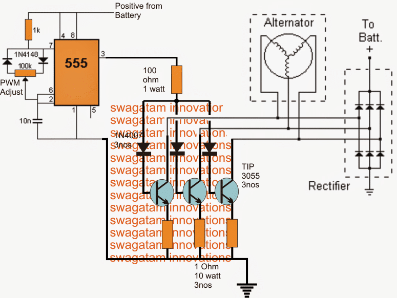 Wiring Diagram For 220v To 110v Converter 3 Phase Motorcycle Voltage Regulator Circuit Homemade