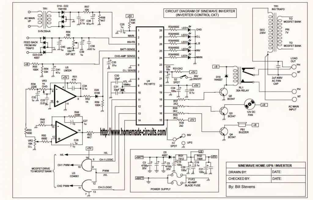apc ups 3000va circuit diagram