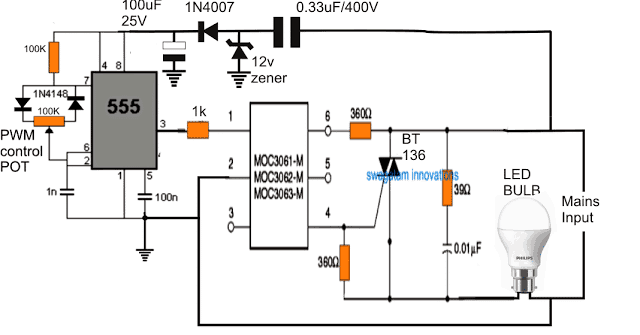 relay schematic circuit
