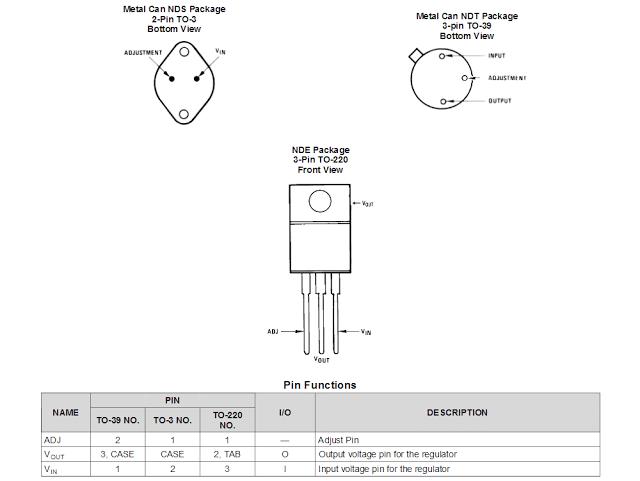 mini variable power supply