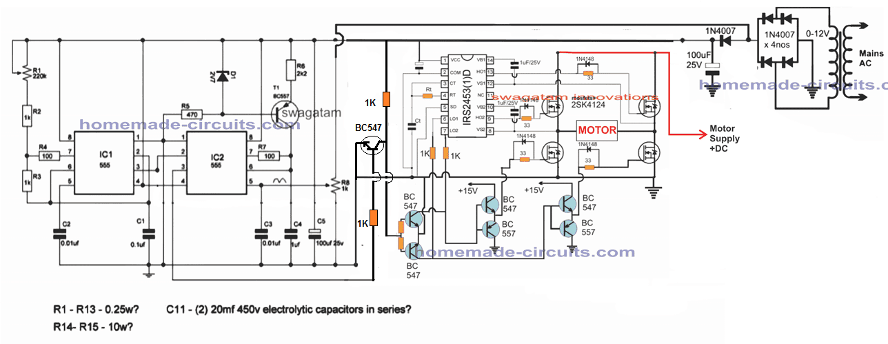 this electric scooter rickshaw circuit electronic circuit projects