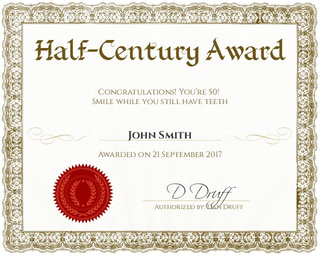 Certificate Template - award certificates templates