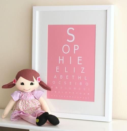 Fancy Eye Chart Maker - Create Custom EyeCharts Online
