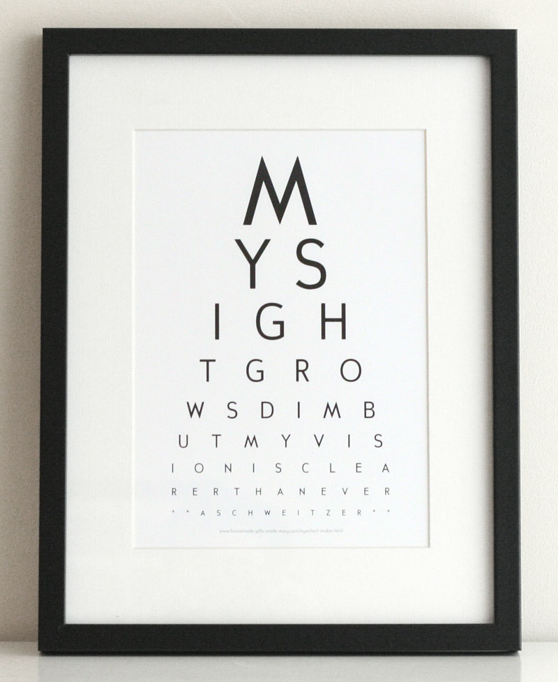 Free Eye Chart Maker - Create Custom EyeCharts Online - eye chart template