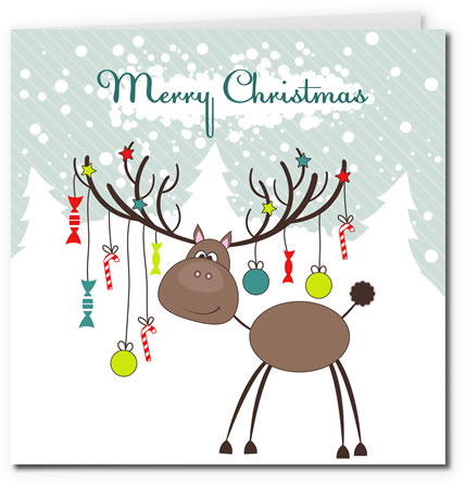 christmas card templates free printable - Towerssconstruction