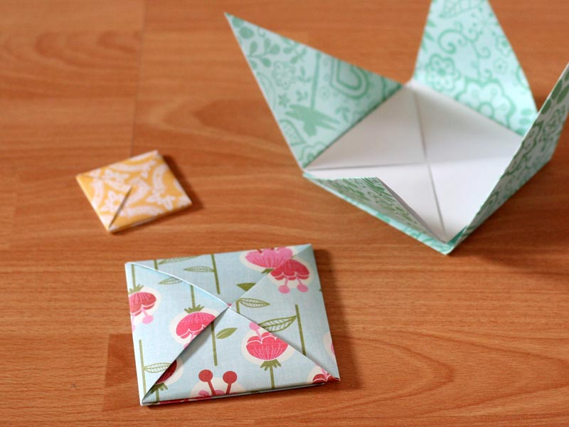 Beautiful Origami Envelope - Folding Instructions and Video