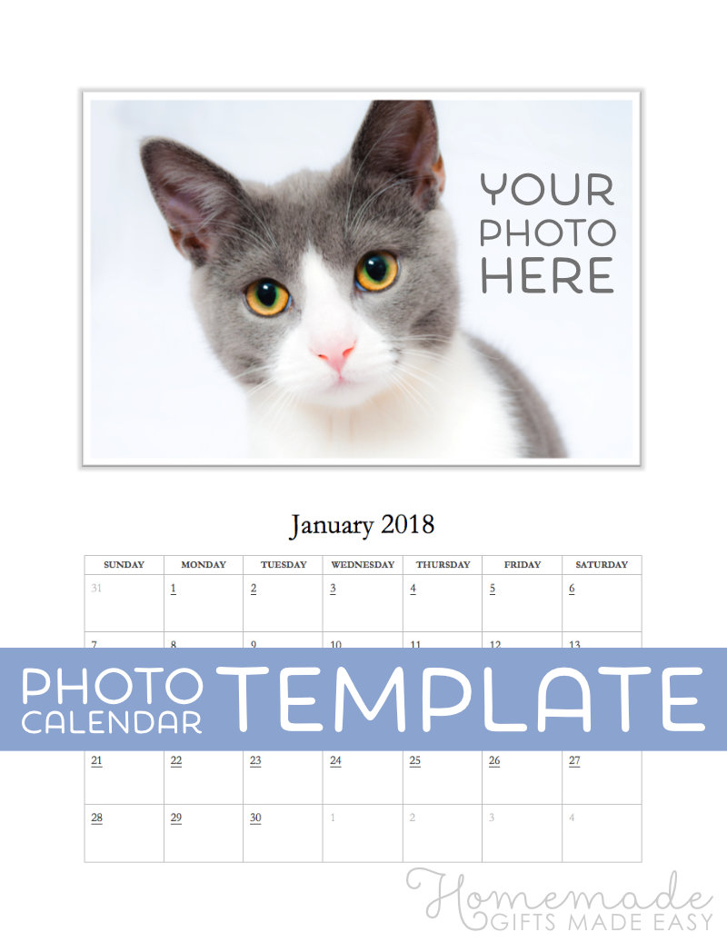 How Calendar Was Created Just For You Assignment Calendar 4teachersorg Free Photo Calendar Template For 2018 2019 For Ms Word
