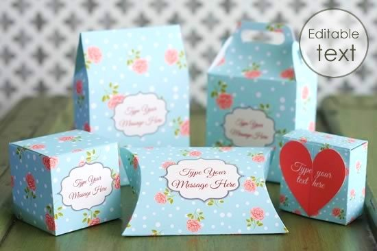 Instructions for Making Gift Boxes