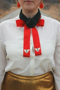 Diy Bow Tie With Ribbon - Diy (Do It Your Self)