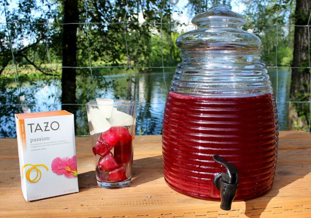 Passion Fruit Iced Tea - Homemade Food Junkie