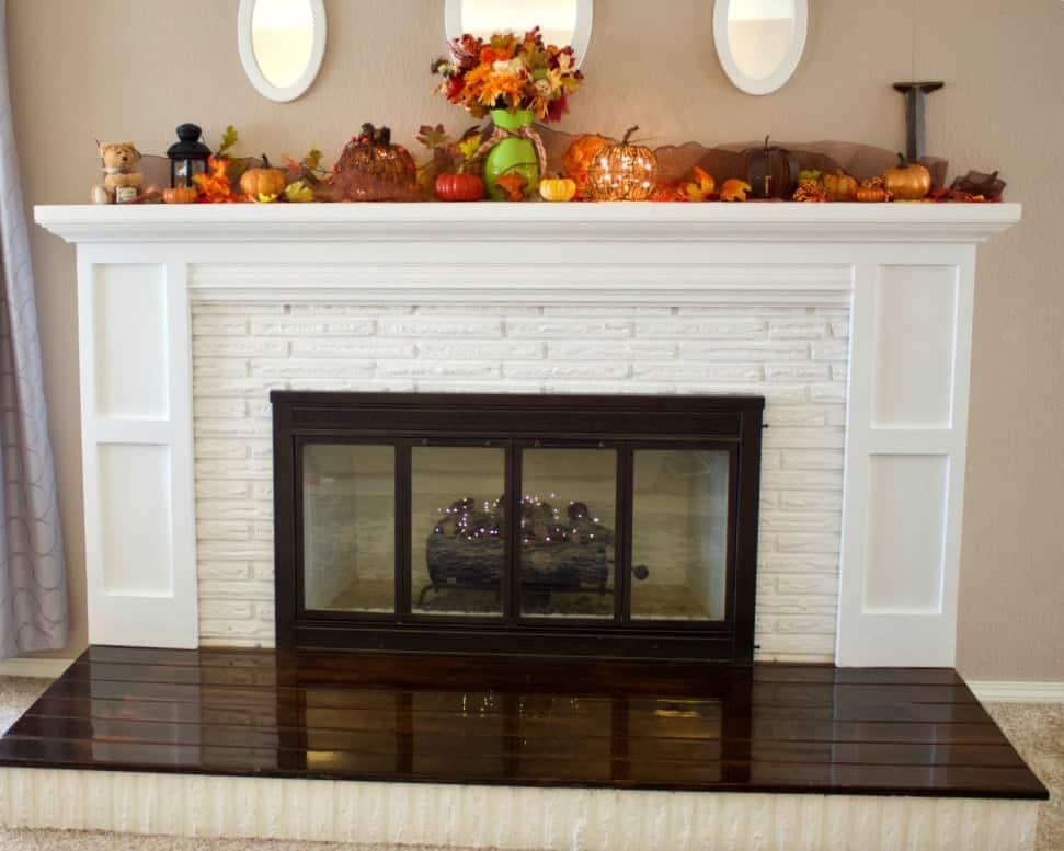 Diy Fireplace Overhaul Reveal
