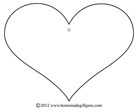 heart shaped templates - Selol-ink