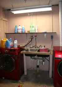 Basement Laundry Room Makeover - Homemade Ginger