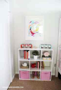 Picture Diy Room Decor Projects Went Into This Dramatic Shared Girls Bedroom Diy Room Decor Homemade Ginger Girls Bedroom Makeover Ideas Girls Bathroom Makeover Lots