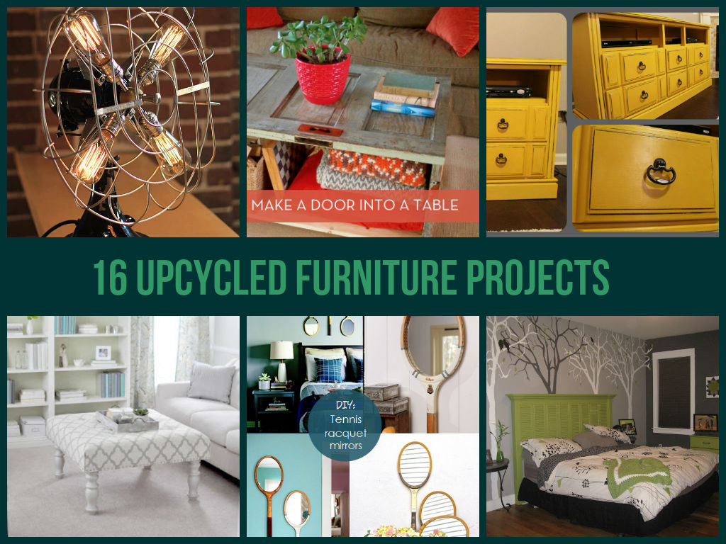 16 Upcycled Furniture Projects