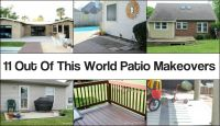 11 Out Of This World Patio Makeovers