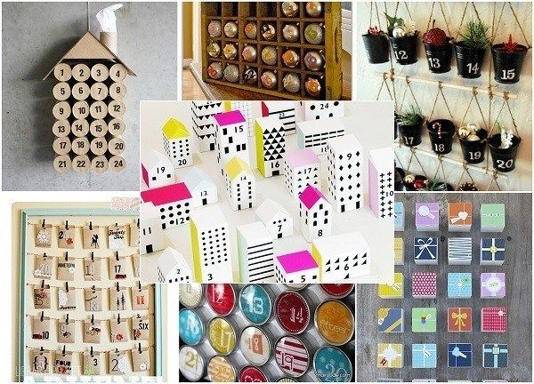 20 DIY Advent Calendars To Make The Countdown To Christmas Extra Special