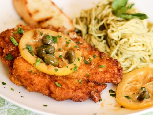 Medium Of What To Serve With Chicken Piccata