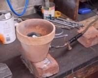 Homemade Aluminum Melting Furnace - HomemadeTools.net