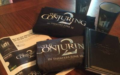 The Conjuring 2: GIVEAWAY and Discussing Current Films with Teens