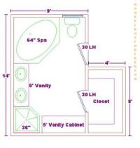 Bathroom Floor Plans With Dimensions | Home Decorating ...