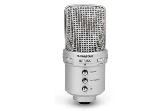 Samson G Track Recording Studio Usb Microphone Hr