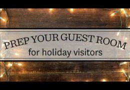 How to Warm Up a Guest Room for the Holidays