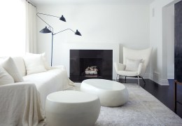 Black-and-White Minimalist Home