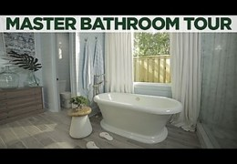 Coastal Inspired Master Bathroom