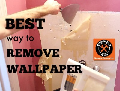 Best way to remove wallpaper: steam it like broccoli