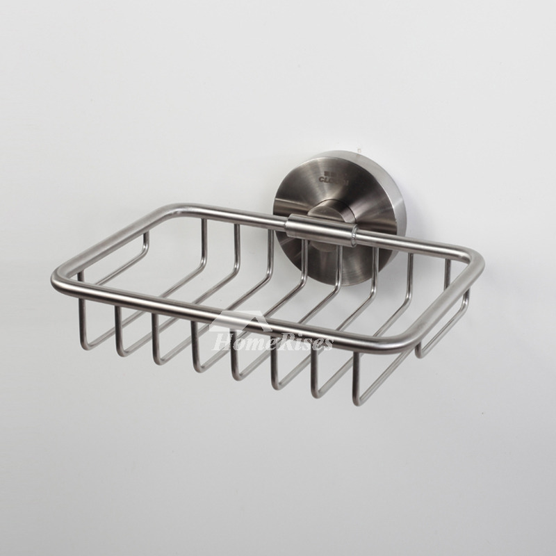 Kld Brushed 304 Stainless Steel Wall Mounted Draining Soap