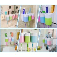 Cute Toothbrush Holder Suction For Bathroom