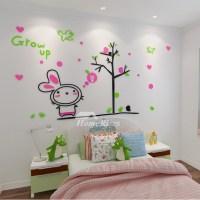 Animal Wall Decals Acrylic Home Decor Childrens Home Decor ...