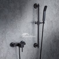 Modern Oil-Rubbed Bronze Single Handle Shower Faucet 4 ...