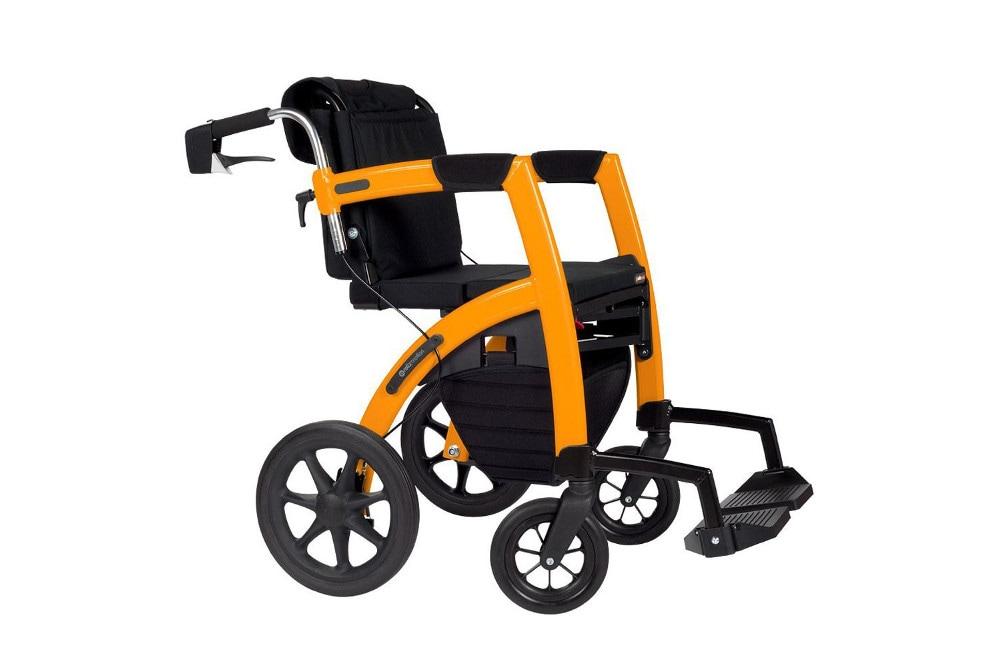 Rollz Motion 2 N 1 Rollator Transport Chair