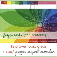 Printable Prayer Cards - FREE Download