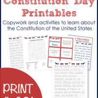 Constitution Day Printables - Free Printables