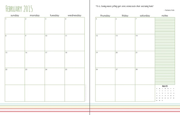 February Daily Planning Pages - Free Printable - free download daily planner