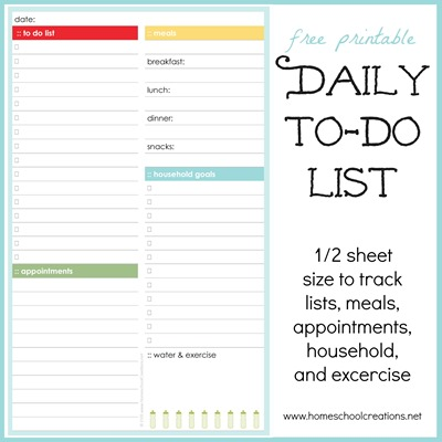 printable daily to do list for work - Canasbergdorfbib