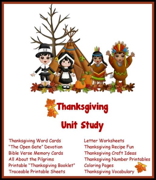 Printable Thanksgiving Poems samplingforeignluxury
