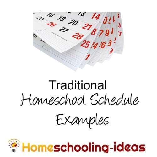 Make a Home School Schedule - Great Homeschooling Schedules