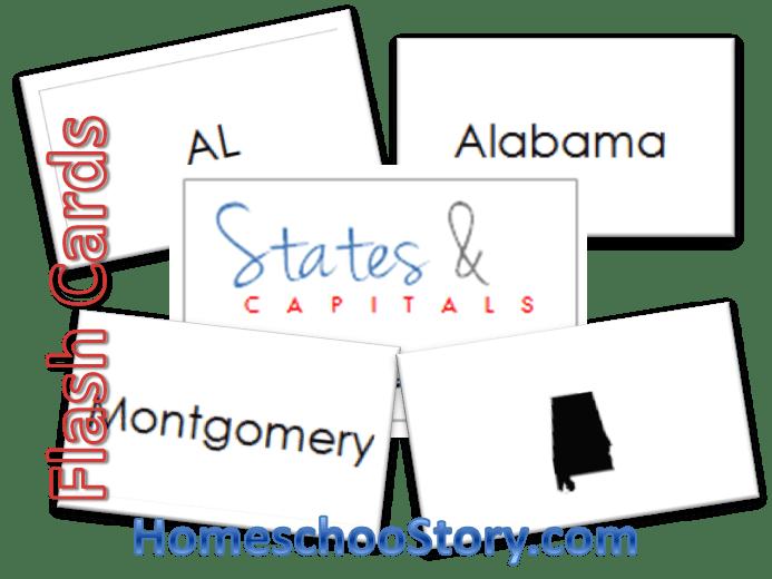 States & Capitals Flashcards