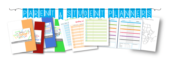 planner page header picture