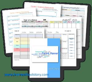 Parent Planner Graphic