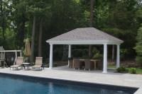 Outdoor Pool Pavilions - Custom Vinyl & Timber Frame - PA ...