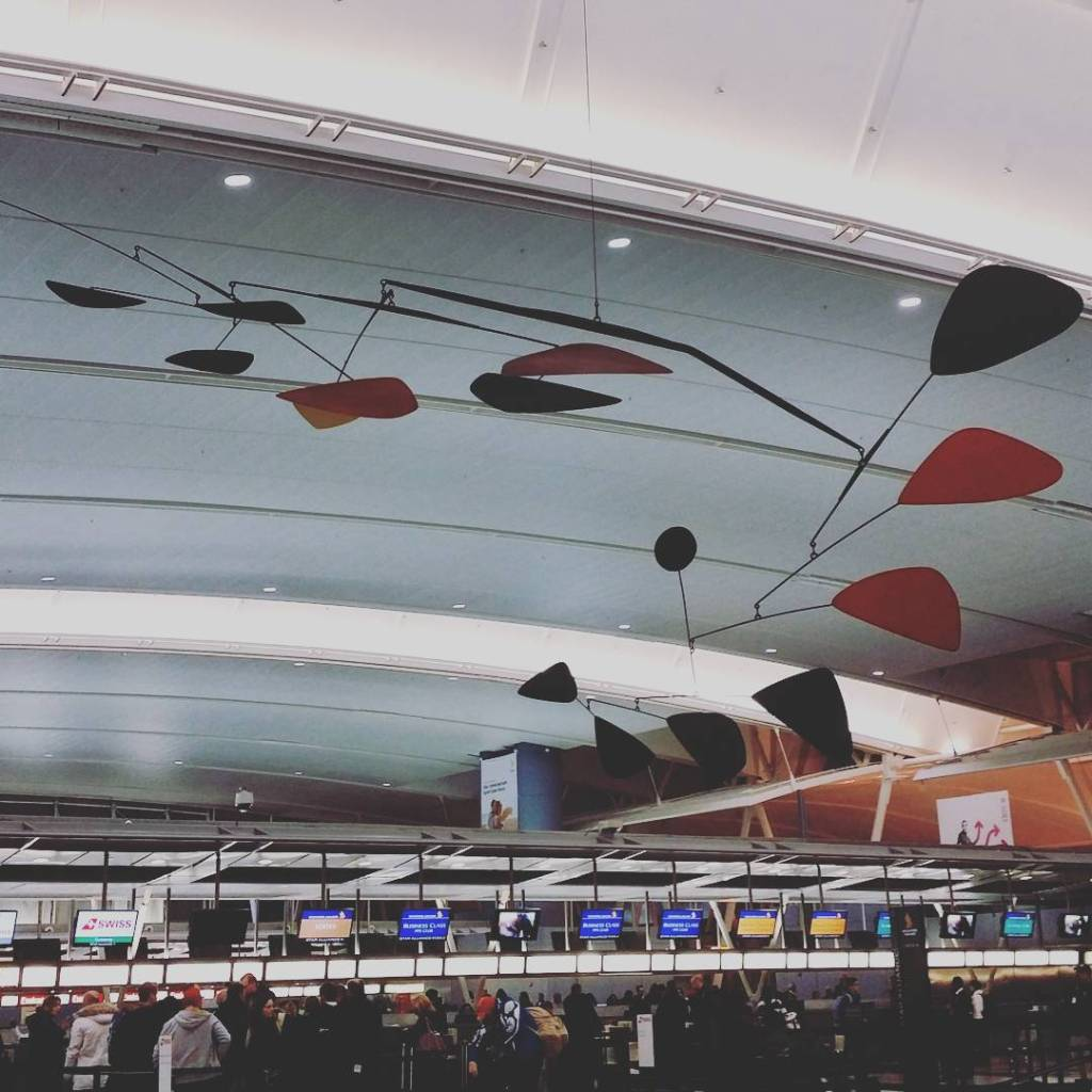 never noticed this huge mir mobile in terminal 4 beforehellip